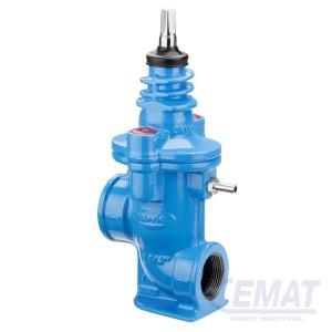 Válvula de servicio para drenaje
