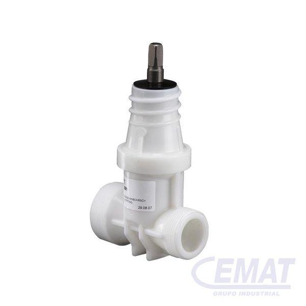 Válvula de servicio combinación de POM ISO sin manguito