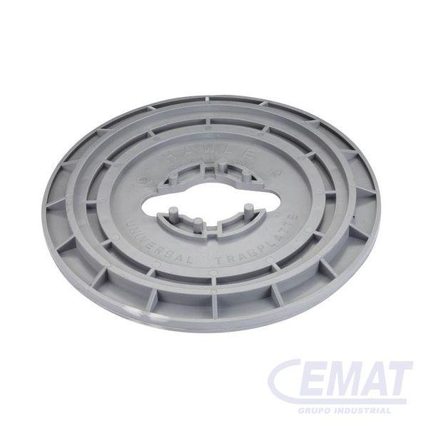 Base para trampillón para trampillones según DIN 4056 y DIN 4057