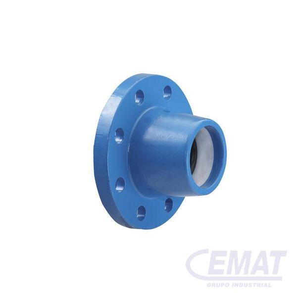 Brida tubo ISO Para tubos PE
