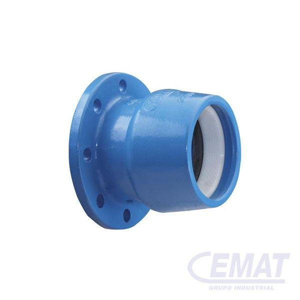 Brida tubo ISO para tubos de PE