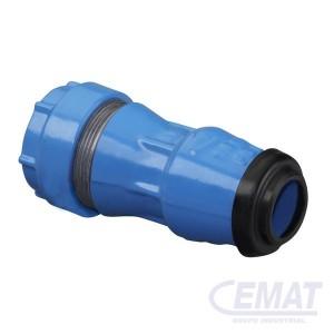 """Acoplamiento tubo PE - tubo de acero 3/4"""""""