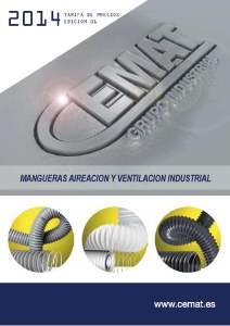 portada mangueras aireacion y ventilacion industrial