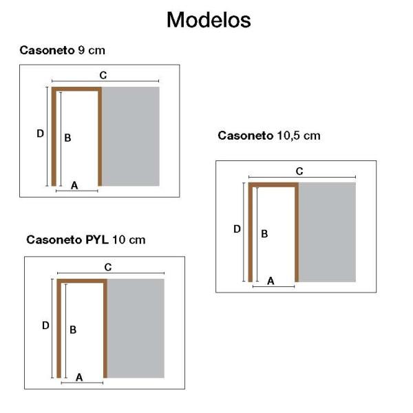modelos casoneto
