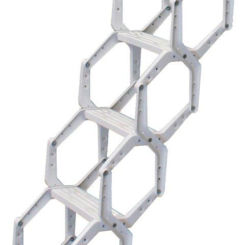 escalera escamoteable de tijera lx lacada 2