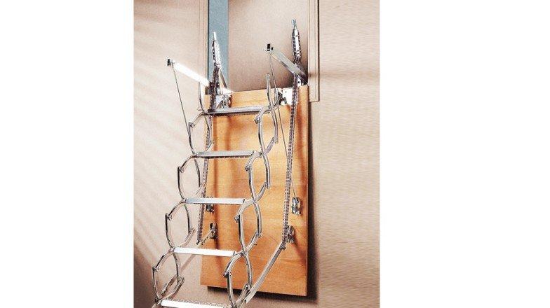 escalera escamoteable de tijera zx pared