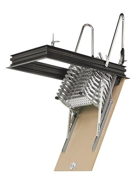 escalera escamoteable tijera zx techo entreabierta