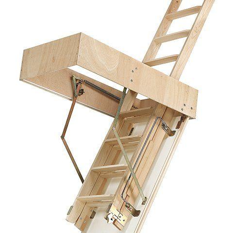 escalera madera cadet 2 iso entreabierta