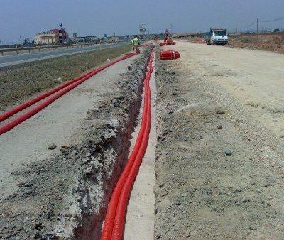 instalacion tuberia cables