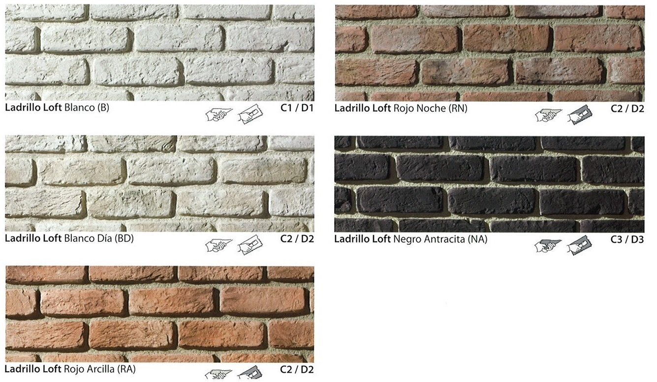 Ladrillo decorativo rockustone decorativos copyright - Ladrillos decorativos para pared ...