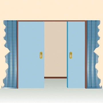 modelo puerta doble