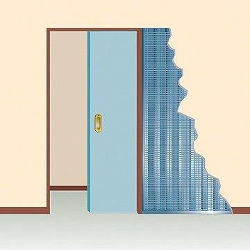 modelo puerta simple