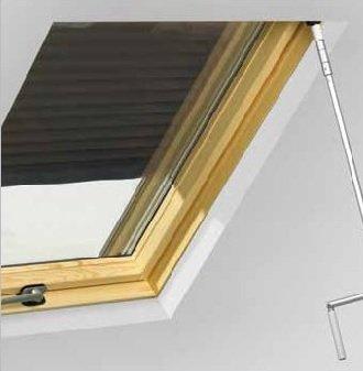 persiana exterior manual con manivela