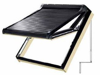 persiana exterior manual ventana tejado