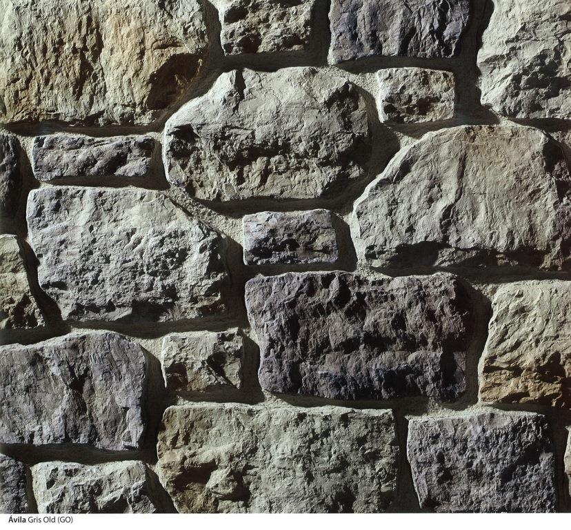 piedra cultivada avila gris old