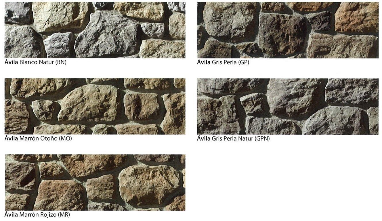 modelos piedra cultivada avila