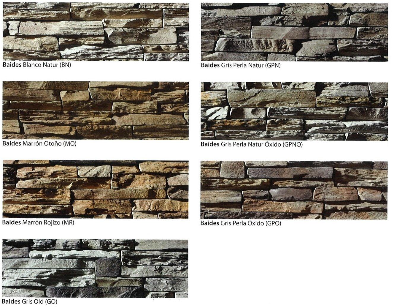 modelos piedra cultivada baide