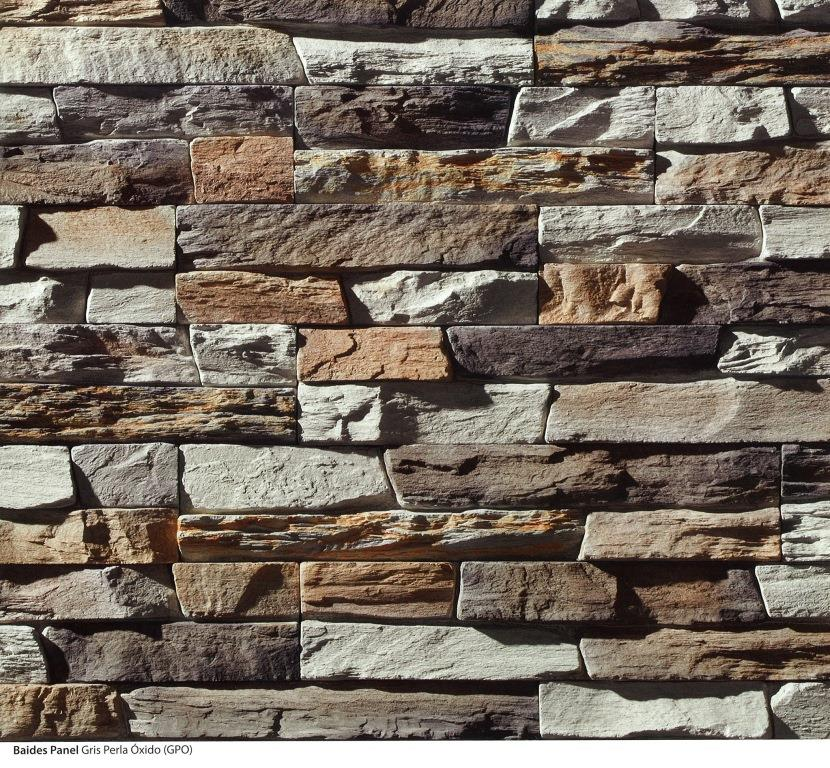 piedra cultivada baides panel gris perla oxido