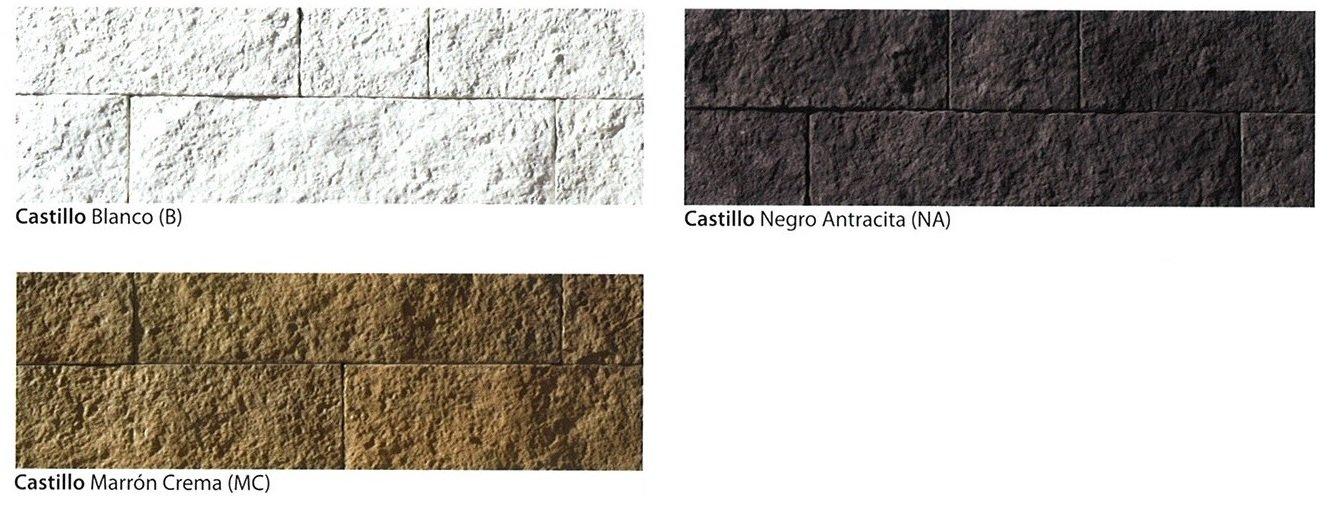 modelos piedra cultivada castillo