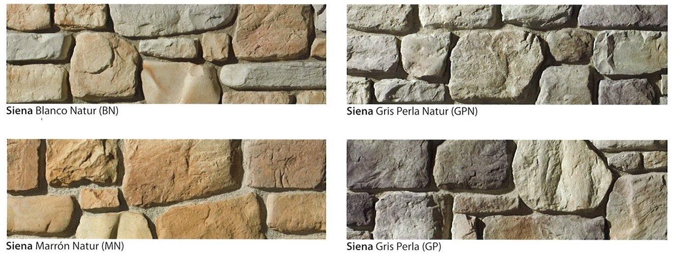 modelos piedra cultivada siena