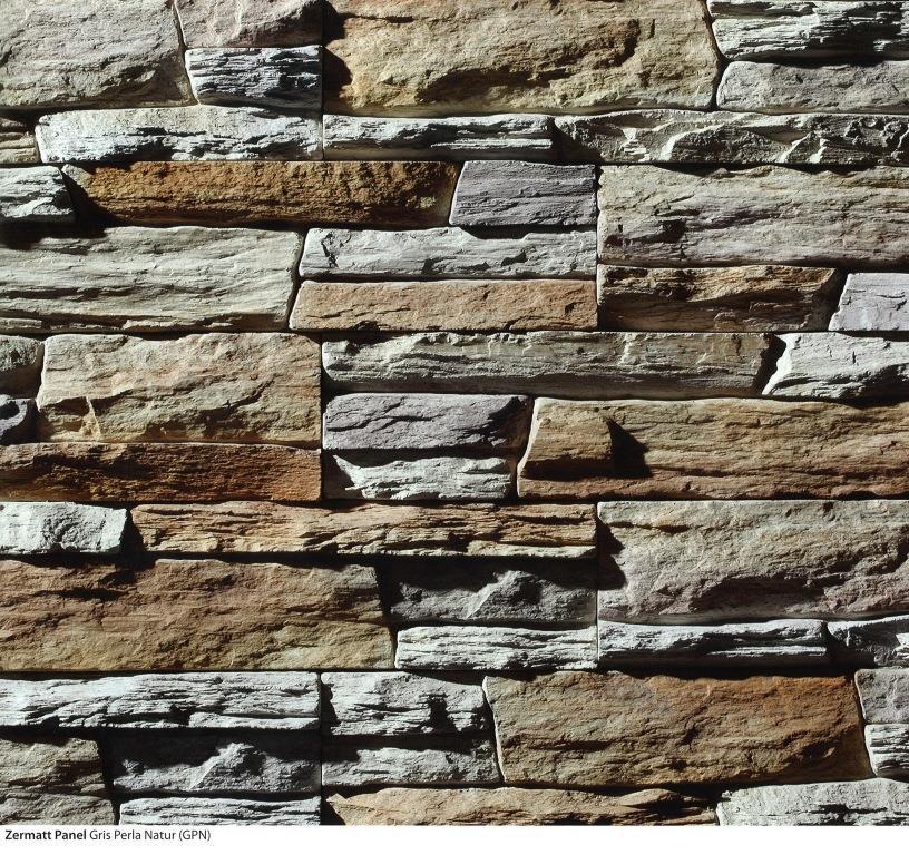 piedra cultivada zermatt panel gris perla natur