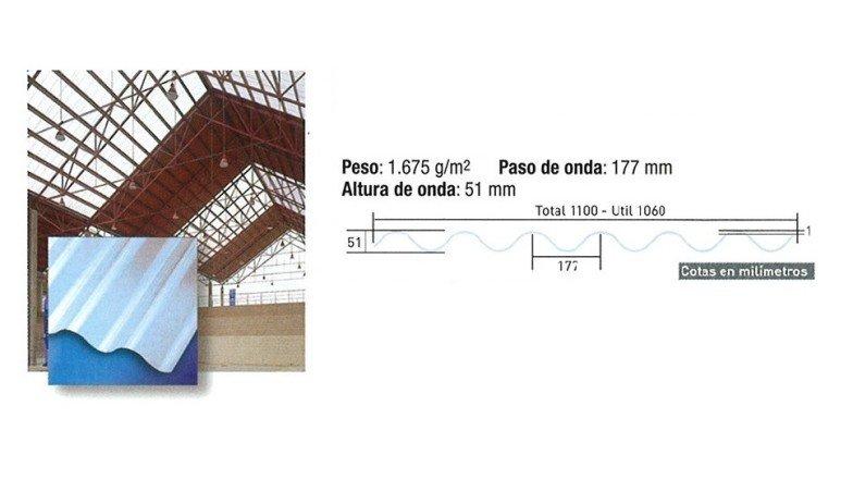 Placa poliester granonda cemat gijon asturias - Placas de poliester ...