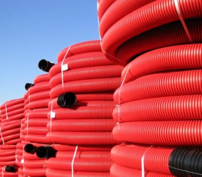 rollos tuberia cables