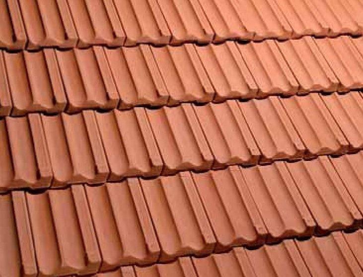 teja ceramica mixta alicantina rojo