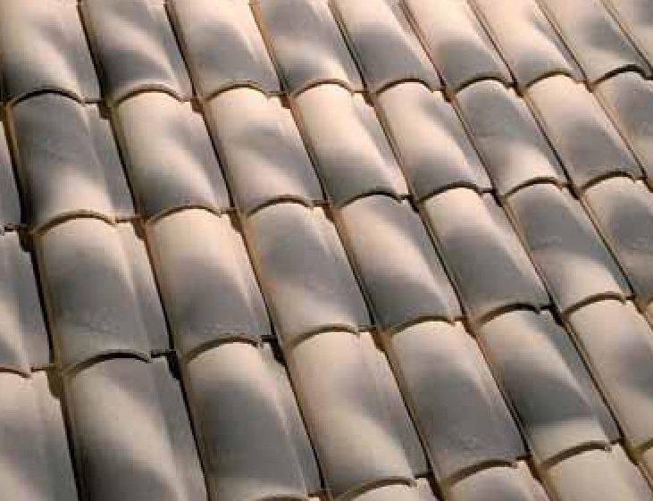 teja ceramica mixta collado 10 paja flameado