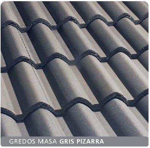 teja hormigón gredos masa gris pizarra