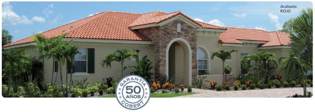 tejado con teja ceramica klinker meridional rojo 2