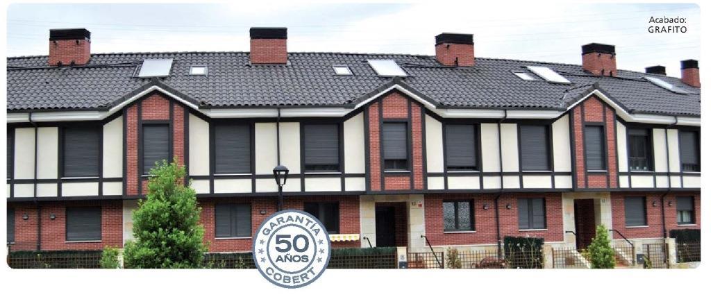 tejado con teja klinker k2 grafito