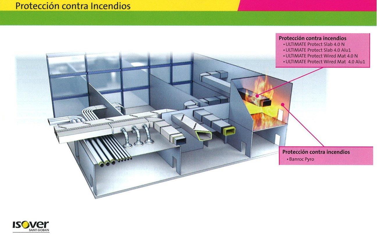 aislamiento proteccion contra incendios