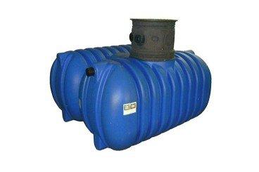 deposito agua instalaciones enterradas azul