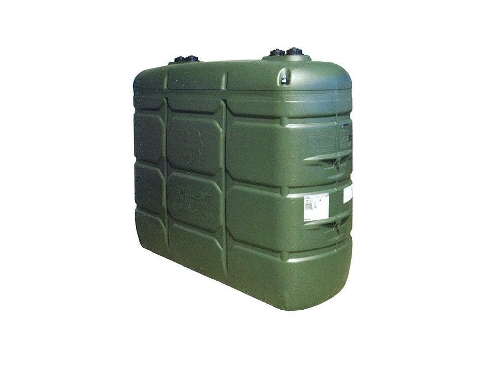 Dep sito doble pared confort verde para gasoleo cemat for Inodoro verde