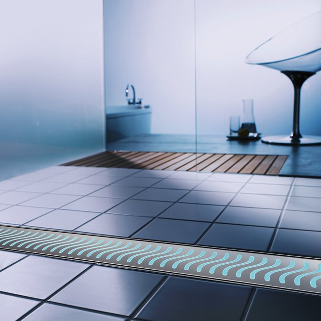 canal ducha lightline inox