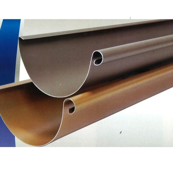 canalon aluminio imitacion cobre