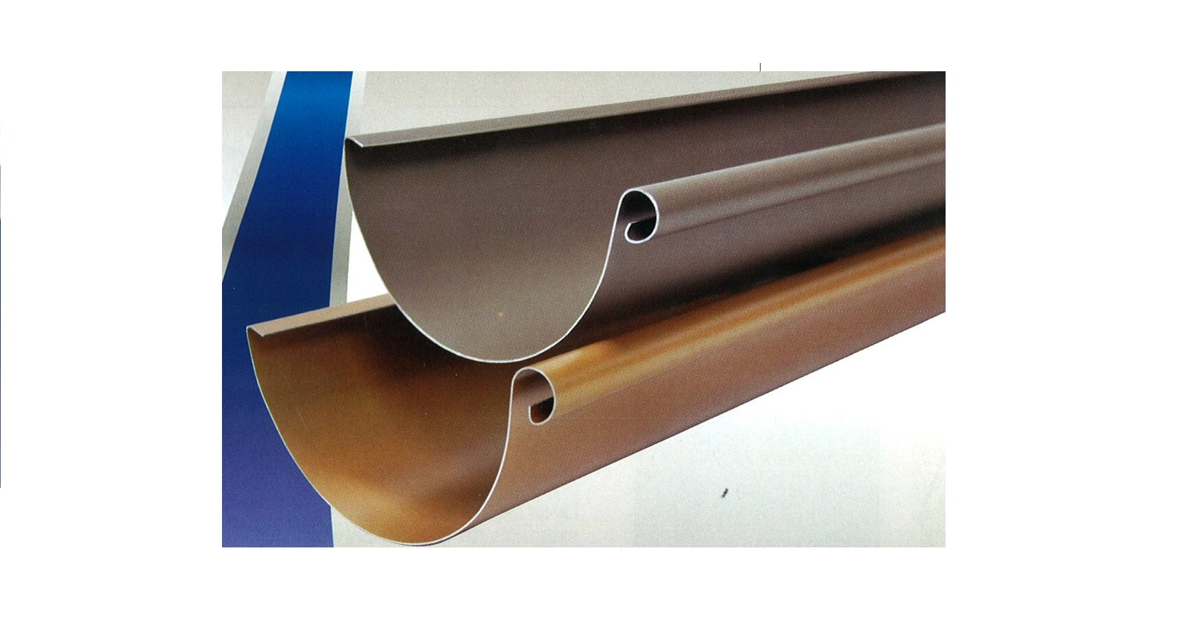 Canal n de aluminio revestimiento cobre cemat gijon for Canalon de aluminio