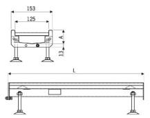 detalle canal modular reja inox