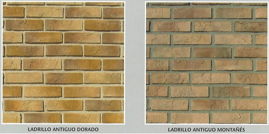 Ladrillo antiguo decorativo artificial cemat gijon asturias valladolid leon oferta precio - Panel imitacion ladrillo ...