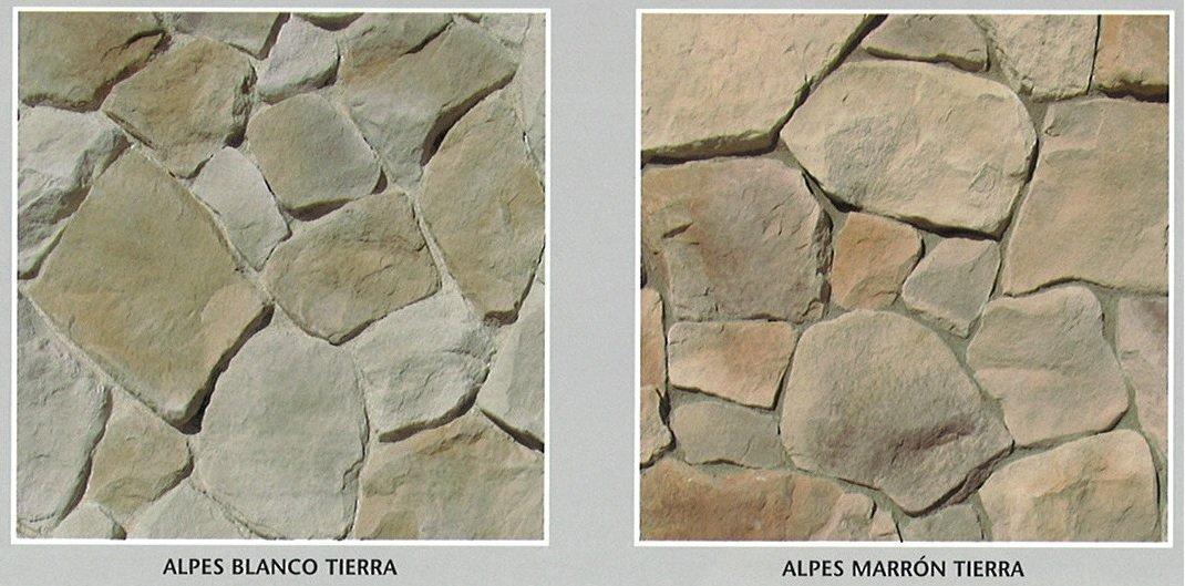 piedra cultivada alpes modelos