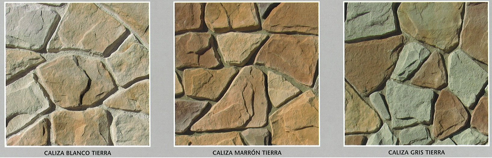 piedra cultivada caliza modelos