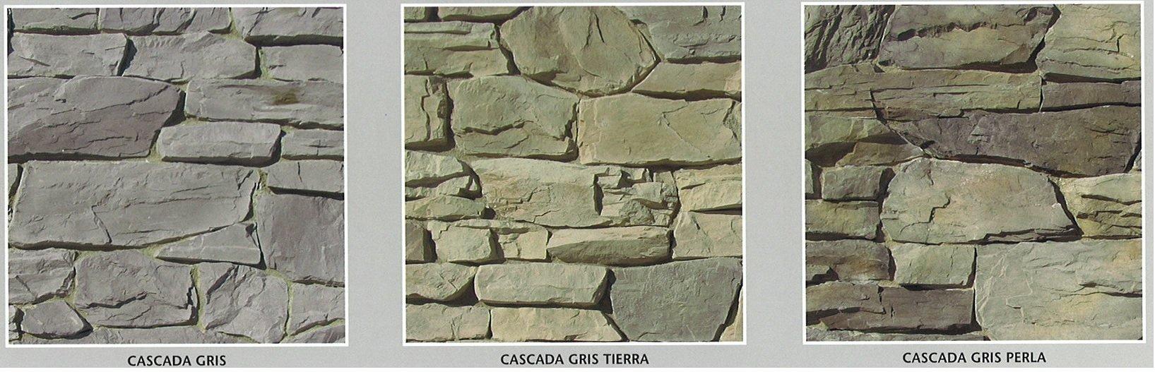 piedra cultivada cascada modelos 2