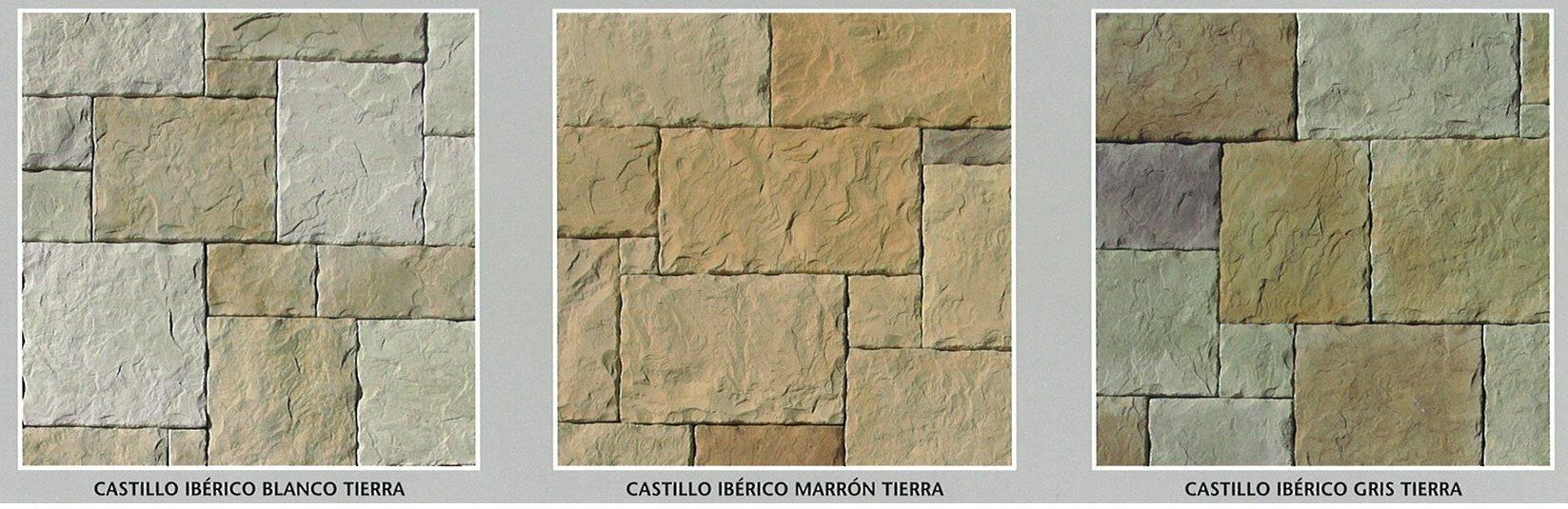 piedra cultivada castillo iberico modelos