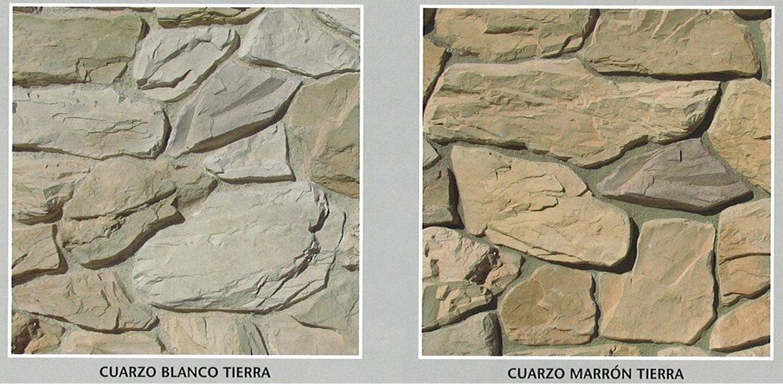 piedra cultivada cuarzo modelos