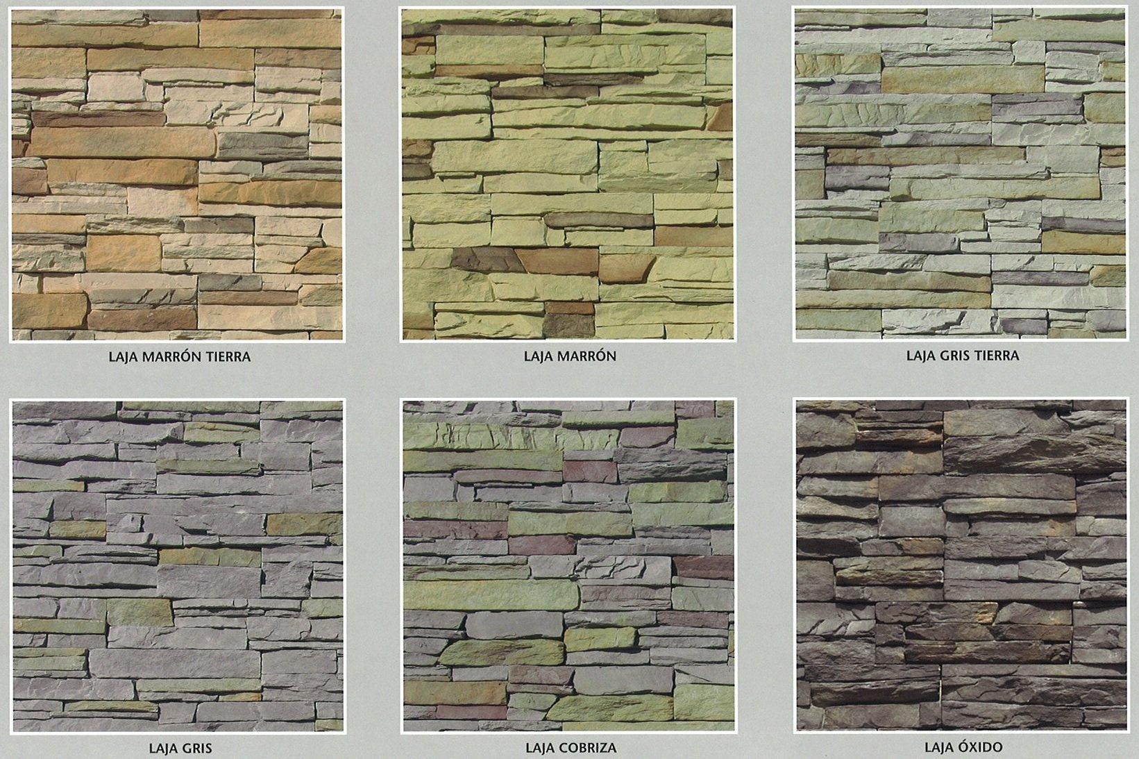 Piedra cultivada modelo laja cemat gijon asturias madrid zaragoza oferta precios baratos economicos - Precio de piedra para fachada ...