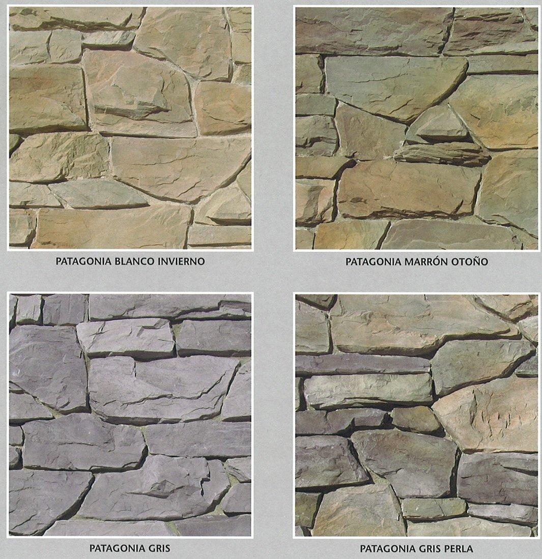 piedra cultivada modelo patagonia