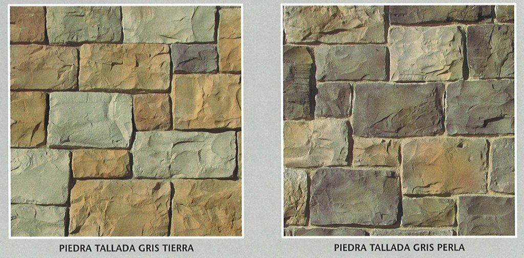 Piedra artificial decorativa modelo piedra tallada cemat - Piedra artificial para fachadas ...