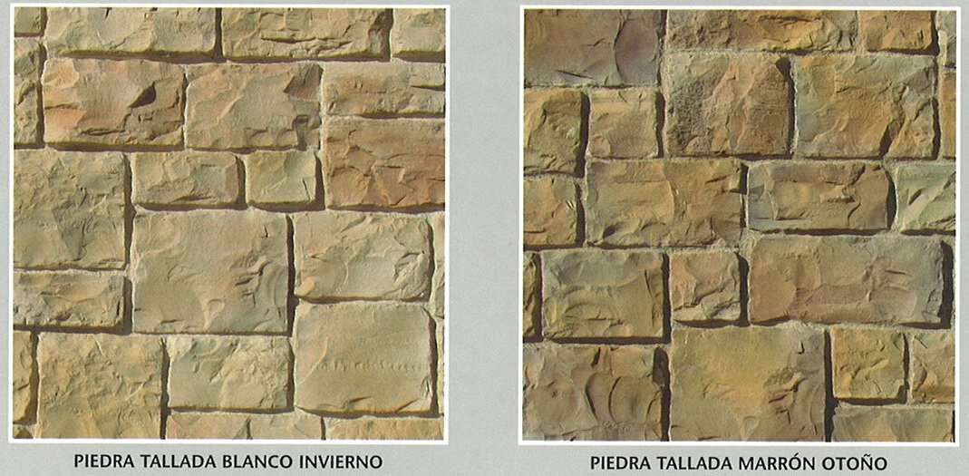 piedra cultivada tallada modelos
