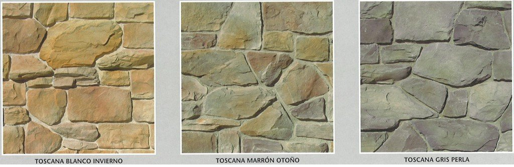 Piedra artificial modelo toscana cemat gijon asturias - Paneles de piedra artificial ...